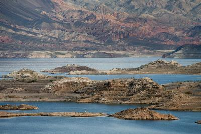 View of the Lake's Western End in Lake Mead National Recreation Area, Nevada-Scott S^ Warren-Photographic Print