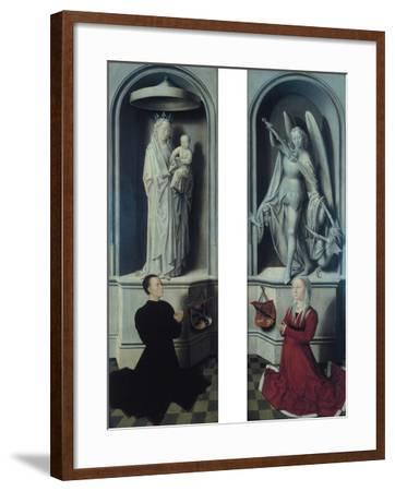 View of the Last Judgement with its Panels Closed-Hans Memling-Framed Giclee Print