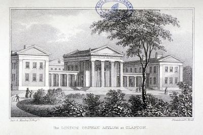 View of the London Orphan Asylum at Clapton, Hackney, London, C1835-Dean and Munday-Giclee Print
