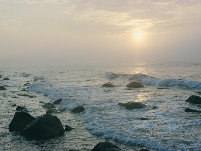 View of the Long Island Coastline-B^ Anthony Stewart-Photographic Print