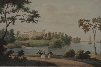 View of the Main Gatchina Palace, 1821-Andrei Yefimovich Martynov-Giclee Print