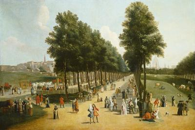 View of the Mall in St James's Park, 1709-10-Marco Ricci-Giclee Print