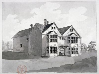 View of the Manor House at Little Ilford, Newham, London, C1786--Giclee Print