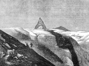 View of the Matterhorn, Late 19th Century