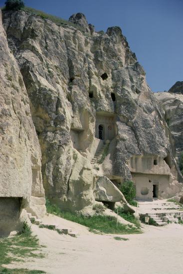 View of the Monastery of Karanlik Kilise--Photographic Print