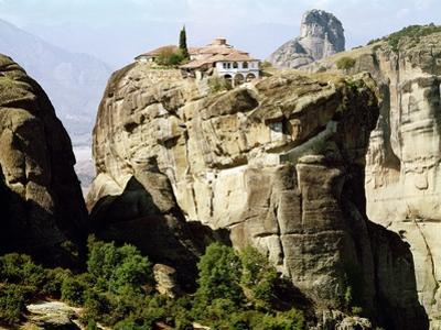 View of the Monastery of the Holy Trinity