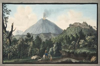 View of the Monte S. Angelo on Which There Is a Convent of Camaldolefi Monks-Pietro Fabris-Giclee Print