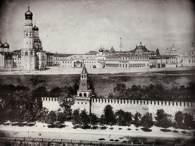 View of the Moscow Kremlin, Russia, C1870-C1875--Photographic Print