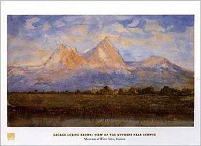 View of the Mythens Near Schwyz-George Loring Brown-Art Print