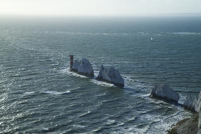 View of the Needles, Isle of Wight, England, United Kingdom, Europe-Peter Barritt-Photographic Print