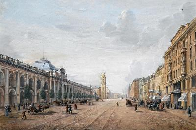 View of the Nevsky Prospekt in Saint Petersburg--Giclee Print