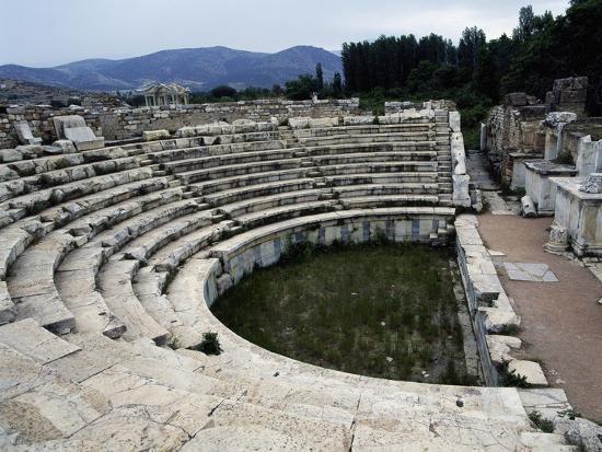 View of the Odeon, Aphrodisias, Turkey--Giclee Print