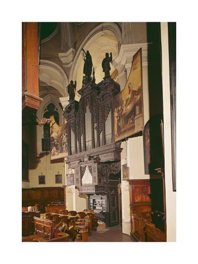 View of the Organ in Franziskanerkirche, Vienna, 1643--Giclee Print