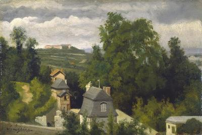 View of the outskirts of Caen, 1872-75-Stanislas Victor Edouard Lepine-Giclee Print