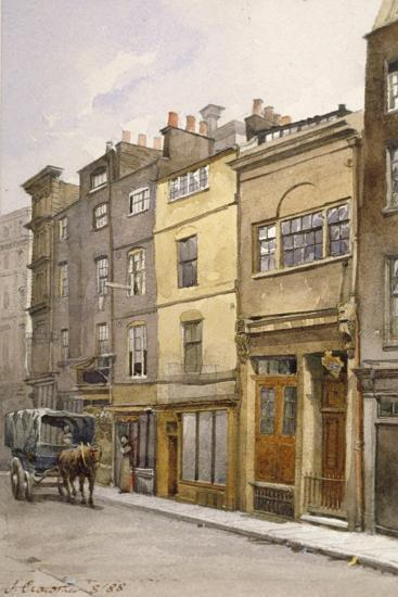 View of the Parish Clerk's Hall, Silver Street, London, 1888-John Crowther-Giclee Print
