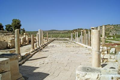View of the Partially Restored Main Street of Patara, Turkey--Photographic Print