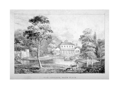 View of the Pavilion, Hans Place, Chelsea, London--Giclee Print
