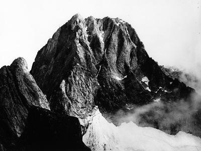 View of the Peak of Pizzo Badile in Val Masino, Sondrio--Photographic Print