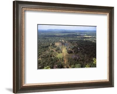 View of the Pleasure Gardens from the Summit of Sigiriya, Sri Lanka, 20th century-CM Dixon-Framed Photographic Print
