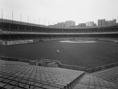 View of the Polo Grounds from the Bleachers to the Field and Grandstand, New York, July 3, 1914-William Davis Hassler-Photographic Print