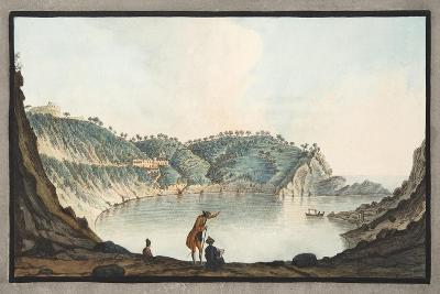View of the Porto Pavone in the Island of Nisida-Pietro Fabris-Giclee Print
