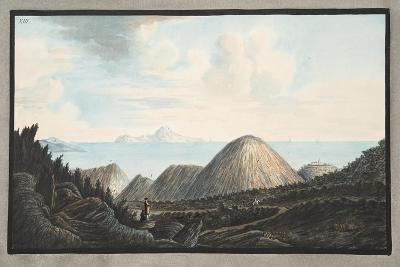 View of the Present State of the Little Mountain Raised by the Explosion in the Year 1760-Pietro Fabris-Giclee Print