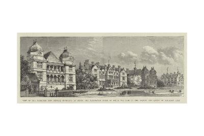 View of the Projected New Central Infirmary at Derby-Henry William Brewer-Giclee Print
