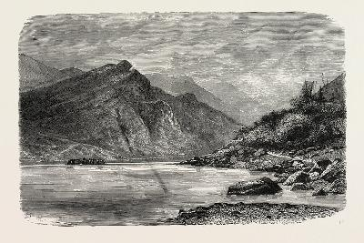 View of the Rapids of the Chu-Kiang, Canton, or Pearl River--Giclee Print