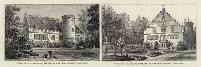 View of the Rosenau, Where the Prince Consort Was Born--Giclee Print