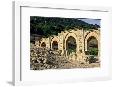 View of the Ruins--Framed Giclee Print