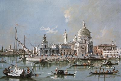 View of the Santa Maria Della Salute Church, 18th Century-Francesco Guardi-Giclee Print