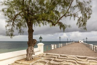View of the Sea of Zanj from Dock, Mozambique Island, Mozambique-Alida Latham-Photographic Print