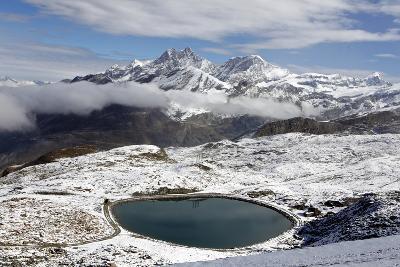 View of the Snowy Swiss Alps in Switzerland-Jill Schneider-Photographic Print