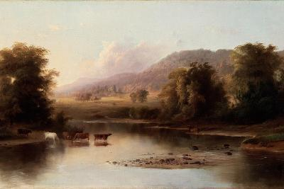 View of the St. Anne's River, 1870-Robert Scott Duncanson-Giclee Print