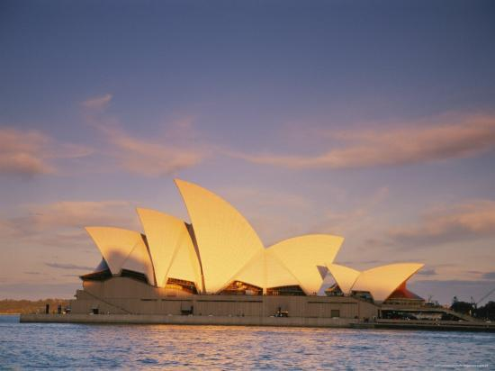View of the Sydney Opera House-Richard Nowitz-Photographic Print