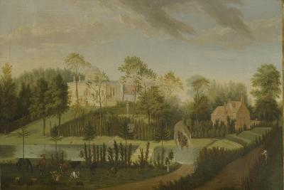 View of the Terrace Looking across the Canal to the Side of the Villa, Chiswick Villa-Pieter Andreas Rysbrack-Giclee Print