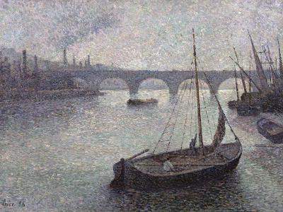 View of the Thames, 1893-Maximilien Luce-Giclee Print