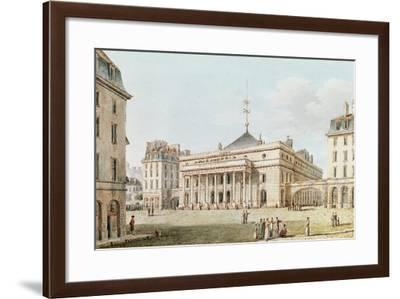 View of the Theatre De L'Odeon, Paris-Victor Jean Nicolle-Framed Giclee Print