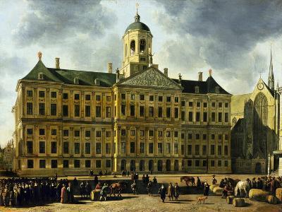 View of the Town Hall, Amsterdam-Gerrit Adriaensz Berckheyde-Giclee Print