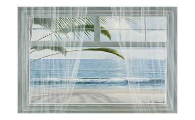 View of the Tropics-Diane Romanello-Art Print