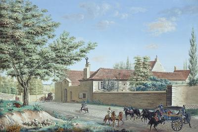 View of the Trou D'Enfer Farm Between Saint-Germain and Marly, C.1810-Antoine Pierre Mongin-Giclee Print