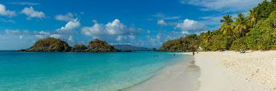 View of the Trunk Bay and Beach, St. John, Us Virgin Islands--Photographic Print