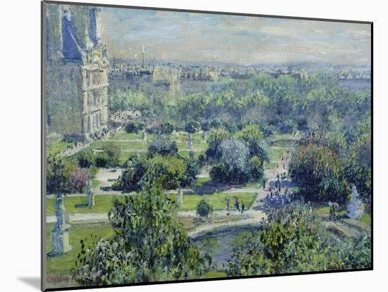 View of the Tuileries Gardens, Paris, 1876-Claude Monet-Mounted Giclee Print