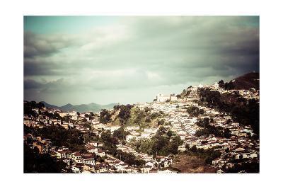 View Of The Unesco World Heritage City Of Ouro Preto In Minas Gerais Brazil-Mariusz Prusaczyk-Art Print