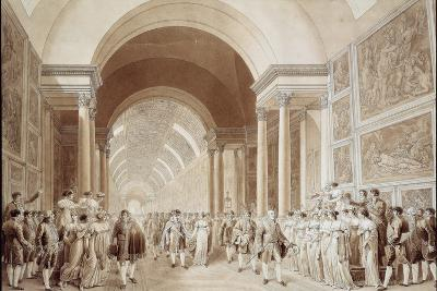 View of the Wedding Procession of Napoleon and Marie Louise--Photographic Print