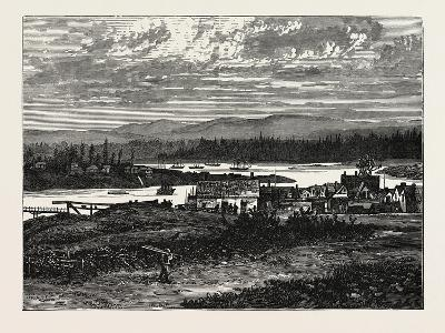 View of the Western Suburbs of Victoria, Vancouver Island--Giclee Print