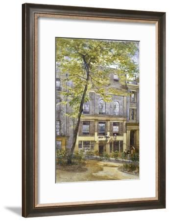 View of the Woolpack Tavern, St Peter's Alley, City of London, 1882-John Crowther-Framed Giclee Print