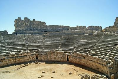 View of the Xanthos Theatre from the Top Seating Tier, Xanthos, Turkey--Photographic Print