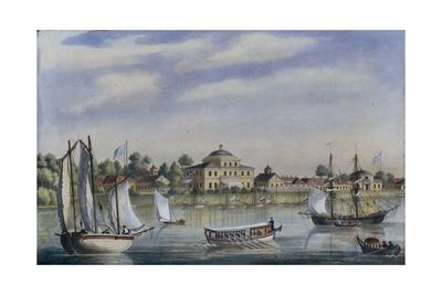 View of the Yelagin Island, 1840S--Giclee Print