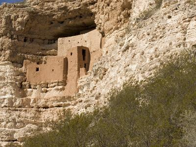 View of This Five-Story, Twenty-Room Cliff Dwelling near Flagstaff-Charles Kogod-Photographic Print